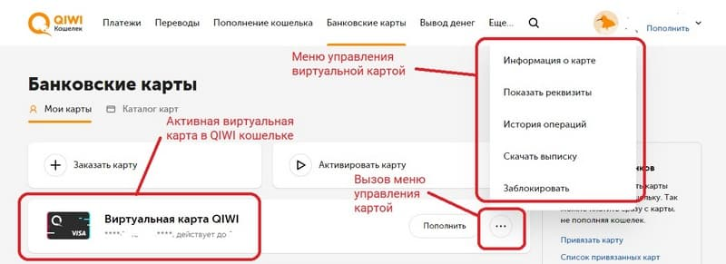 Как пользоваться картой QIWI_Virtual_Visa
