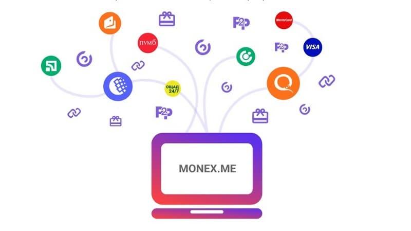 Плюсы обменника Monex_me
