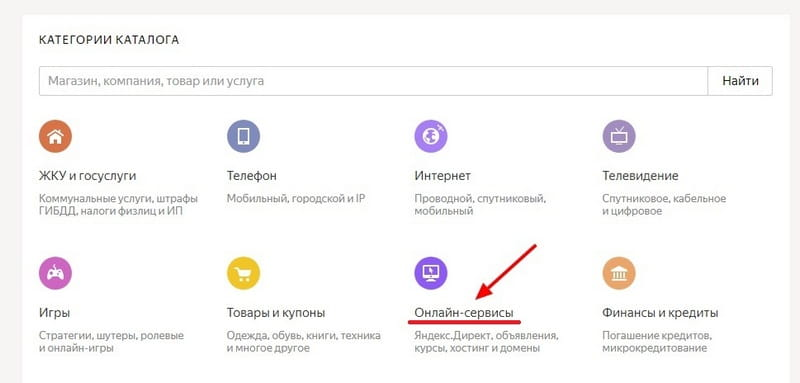 Яндекс Деньги Онлайн Сервисы