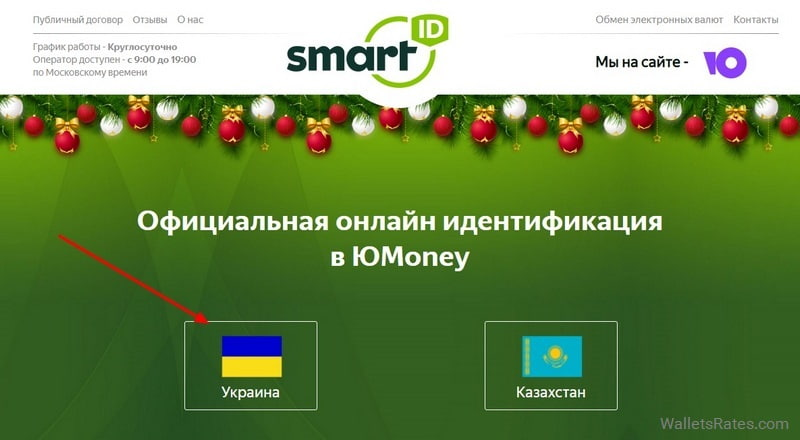 Онлайн идентификация Юmoney SmartID live